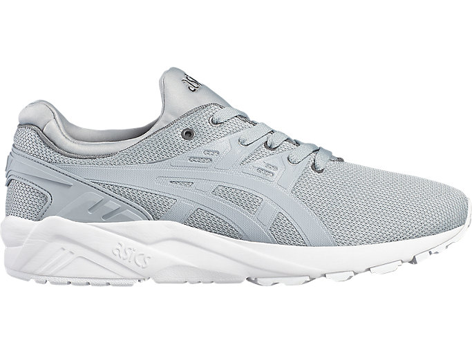 Right side view of GEL-KAYANO TRAINER EVO, MIDGREY/MIDGREY