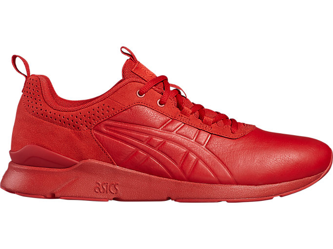 Right side view of GEL-LYTE RUNNER pour hommes, TRUE RED/TRUE RED