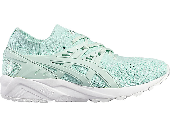 Right side view of GEL-KAYANO TR KNIT, BAY/BAY