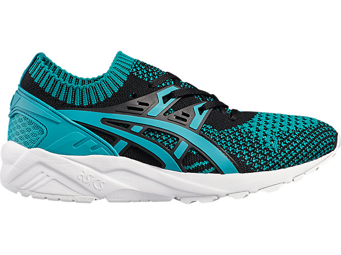 Right side view of GEL-KAYANO TRAINER KNIT, VIRIDIAN GREEN /VIRIDIAN GREEN