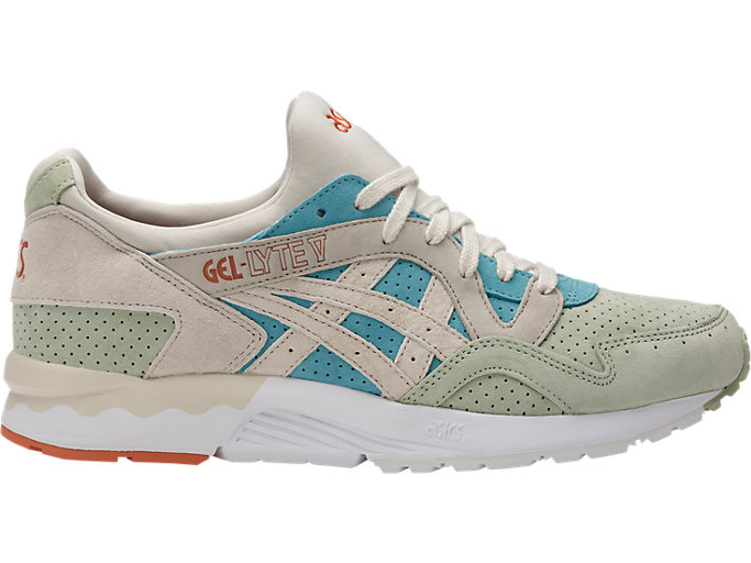 Right side view of GEL-LYTE V, REEF WATERS/BIRCH