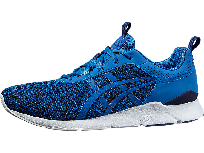 Front Right view of GEL-LYTE RUNNER, CLASSIC BLUE/CLASSIC BLUE