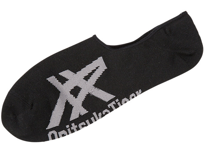 Alternative image view of INVISIBLE SOCKS, BLACK/ HEATHER GRAY
