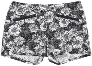 女士印花短裤