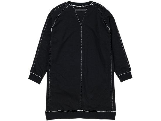 女士卫衣连衣裙 黑色
