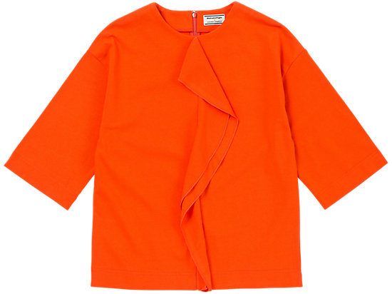 女士上衣 橘色