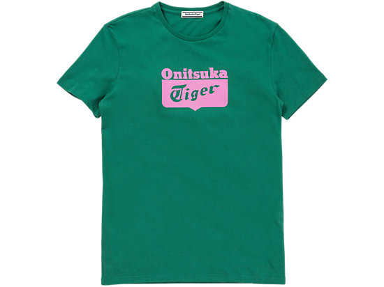 LOGO短袖 绿色/粉色