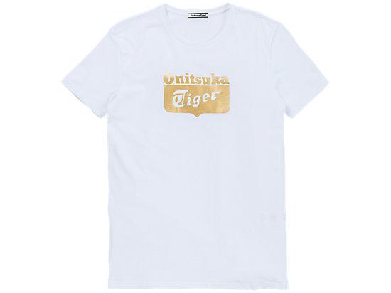 LOGO短袖 白色/金色