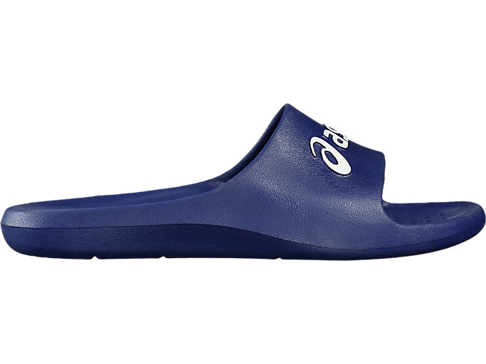 Right side view of AS001, INDIGO BLUE/WHITE
