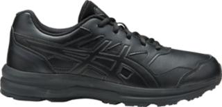 asics black leather womens shoes australia
