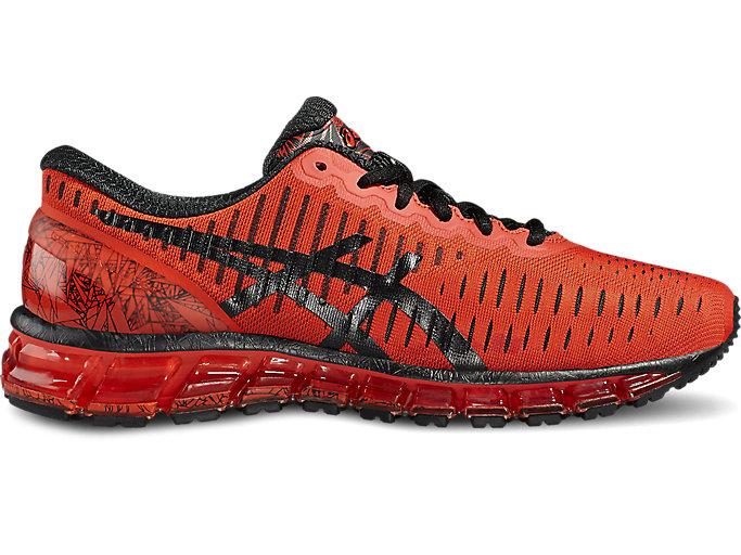 Men's GEL-Quantum 360   Orange/Black/Onyx   Running Shoes   ASICS