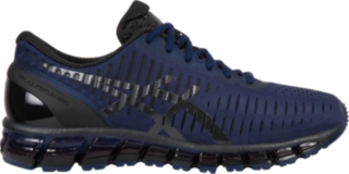 mens blue asics running shoes