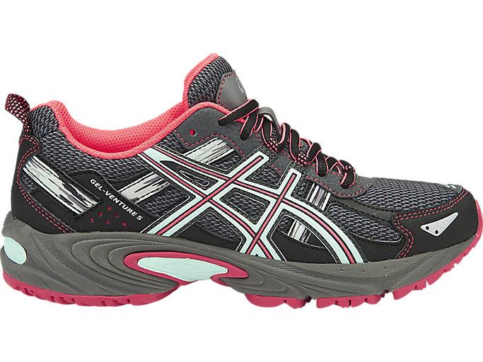 Women's GEL-Venture 5 | Carbon/Diva Pink/Bay | Running Shoes | ASICS