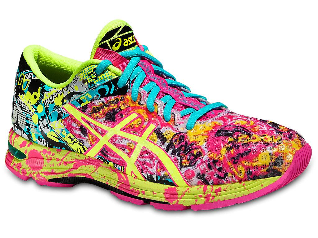 Women's GEL-Noosa Tri 11   Hot Pink/Flash Yellow/Black   Running ...