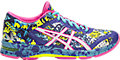 ASICS BLUE/WHITE/HOT PINK