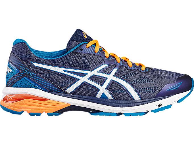 Premedicación masilla Es una suerte que  Men's GT-1000 5 | Indigo Blue/Snow/Hot Orange | Running Shoes | ASICS