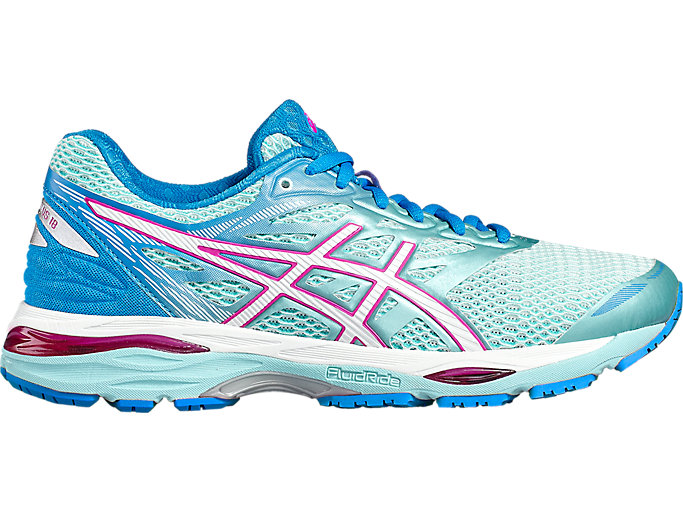 Women's GEL-CUMULUS 18 | AQUA SPLASH/WHITE/PINK GLOW ...