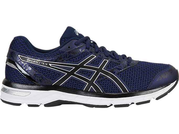 Asics Mens Gel-Excite 4 Running Shoes Trainers Sneakers Blue Sports Breathable