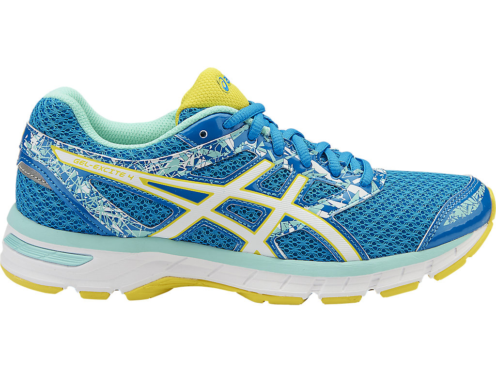 Women's GEL-Excite 4 | Diva Blue/White/Sun | Running Shoes | ASICS