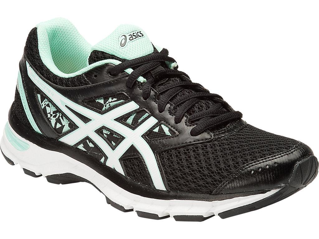 Women's GEL-Excite 4 | Black/White/Mint | Running Shoes | ASICS