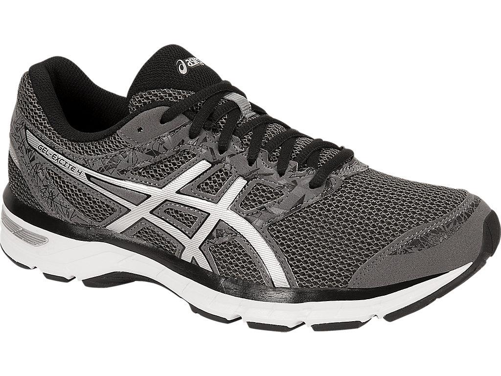 Men's GEL-Excite 4 (4E) | Carbon/Silver/Black | Running Shoes | ASICS