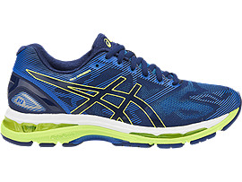 ASICS Gel - Nimbus 19 Indigo Blue / Safety Yellow / Electric Blue Hombre