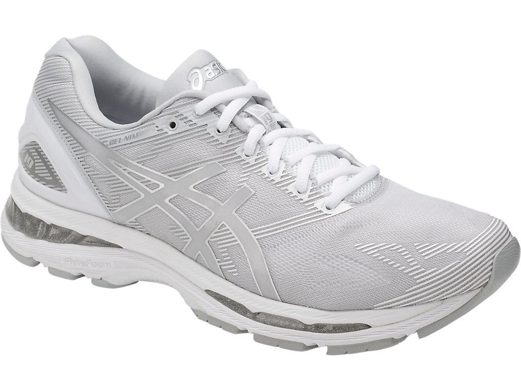 Men's GEL-Nimbus 19 | Glacier Grey/Silver/White | Running Shoes ...