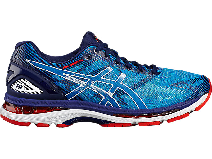 Men's GEL-NIMBUS 19 (2E) | DIVA BLUE/WHITE/INDIGO BLUE ...
