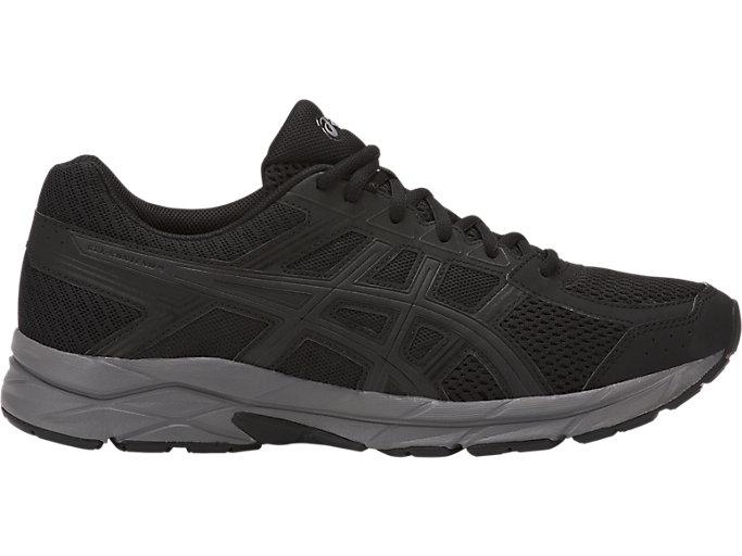 Men's GEL-Contend 4 | Black/Dark Grey | Running Shoes | ASICS