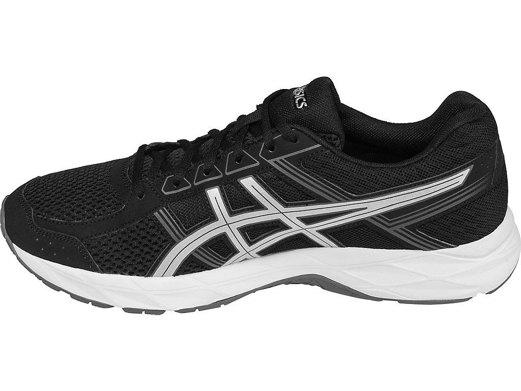 Men's GEL-Contend 4 | Black/Silver/Carbon | Running Shoes | ASICS