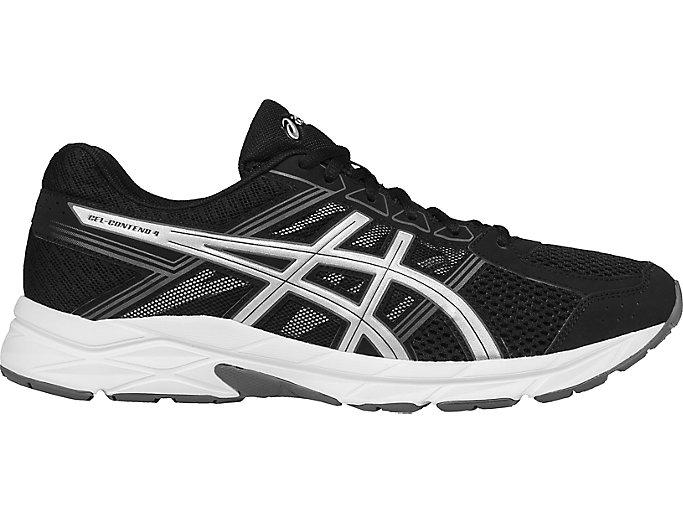 Ciego Mordrin derrocamiento  Men's GEL-Contend 4 | Black/Silver/Carbon | Running Shoes | ASICS