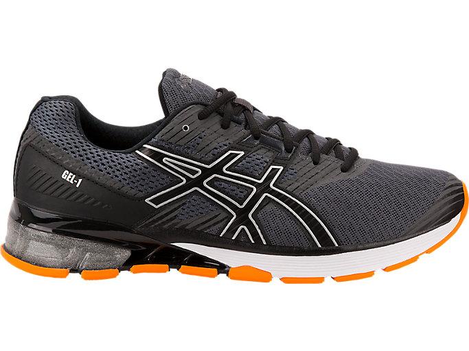 Men's GEL-1   Dark Grey/Black/Orange   Running Shoes   ASICS