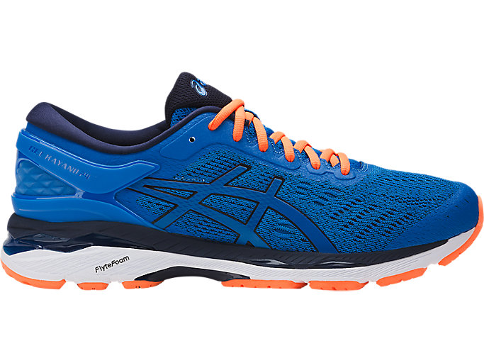 Alternative image view of GEL-KAYANO 24, DIRECTOIRE BLUE/PEACOAT/HOT ORANGE
