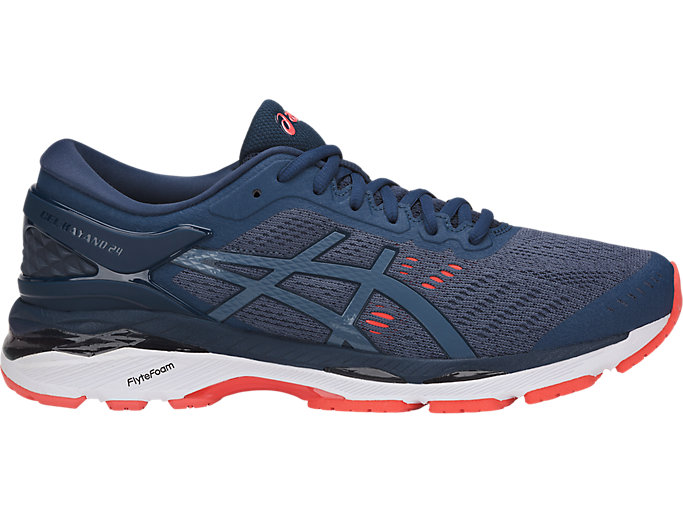 Alternative image view of GEL-KAYANO 24, SMOKE BLUE/SMOKE BLUE/DARK BLUE