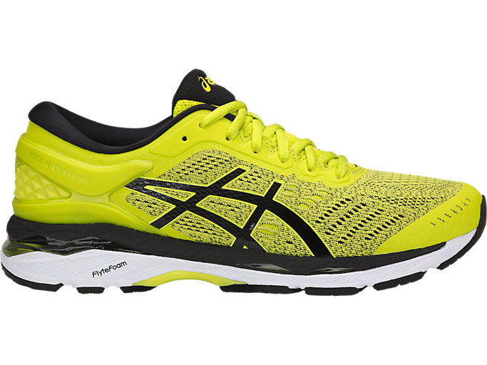 Men's GEL-KAYANO 24 | SULPHUR SPRING/BLACK/WHITE | Running ...