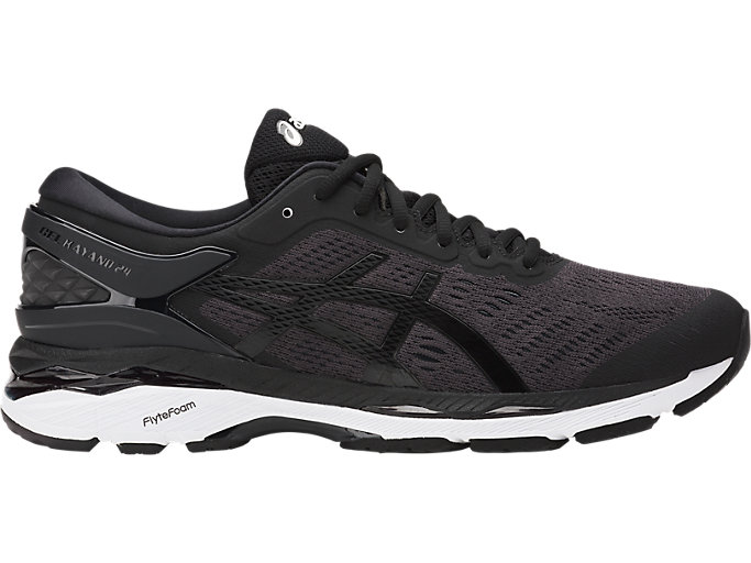 Men's GEL-KAYANO 24 | BLACK/PHANTOM/WHITE | Running | ASICS Outlet