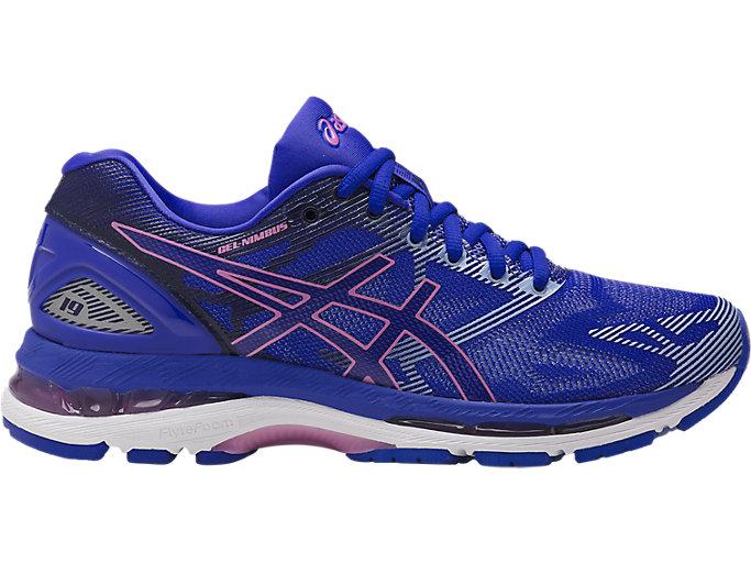 Women's GEL-Nimbus 19   Blue Purple/Violet/Airy Blue   Running ...