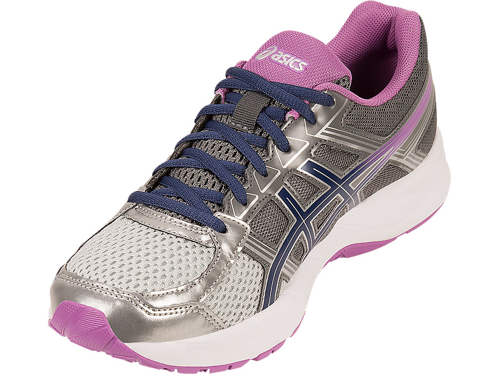 Women's GEL-Contend 4 | Silver/Campanula/Carbon | Running Shoes ...