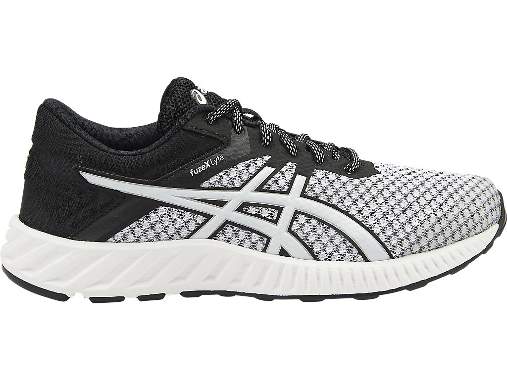 Women's Fuzex Lyte 2   White/Black/Silver   Running Shoes   ASICS