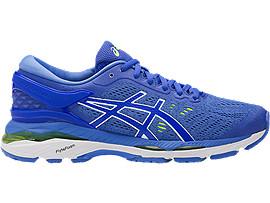 amargo Semejanza Aislar  Women's GEL-Kayano 24 | Smoke Blue/Dark Blue/Canteloupe | Running Shoes |  ASICS