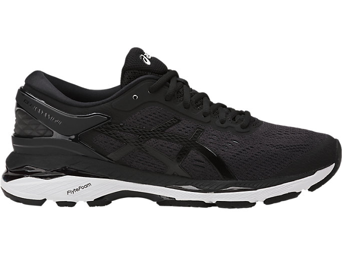 Women's GEL-KAYANO 24 | BLACK/PHANTOM/WHITE | Running ...