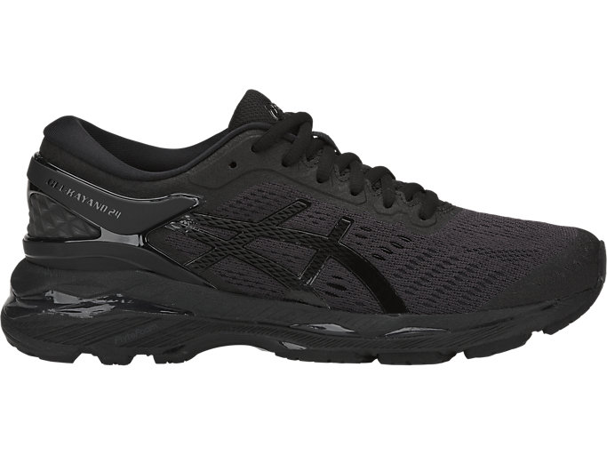 Women's GEL-KAYANO 24 | BLACK/BLACK/CARBON | Running | ASICS ...