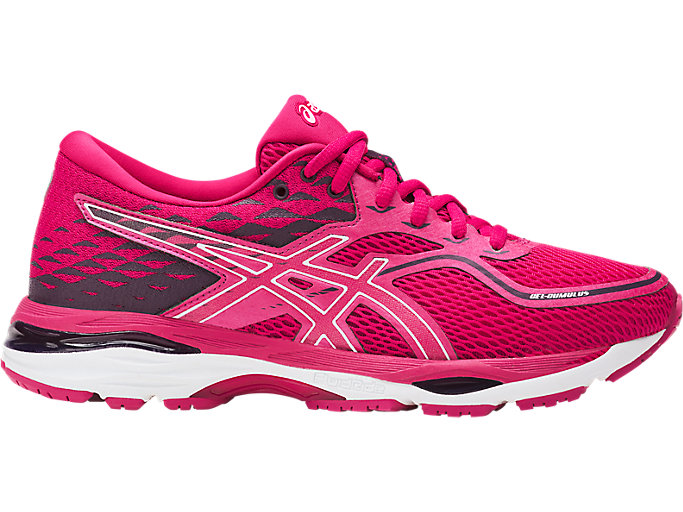 Women's GEL-Cumulus 19   Pink/White/Winter Bloom   Running Shoes ...