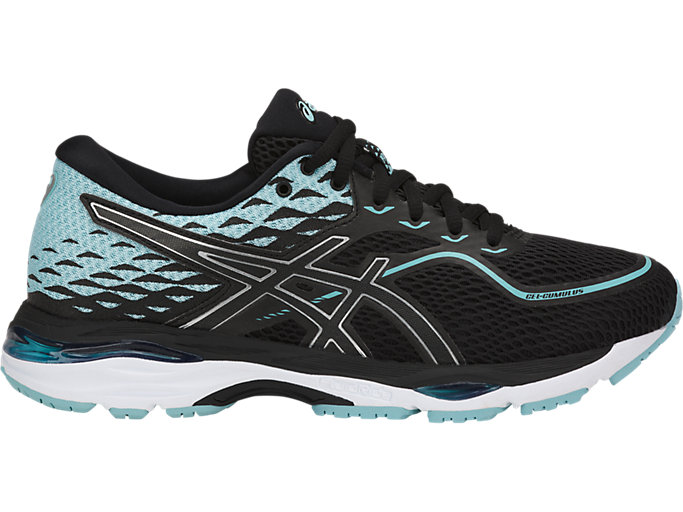 Women's GEL-CUMULUS 19 | BLACK/PORCELAIN BLUE/WHITE ...