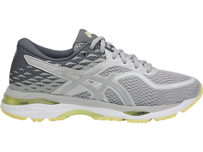 Lejos varonil Propiedad  Women's GEL-CUMULUS 19 | GLACIER GREY/SILVER/LIME LIGHT | Running | ASICS  Outlet