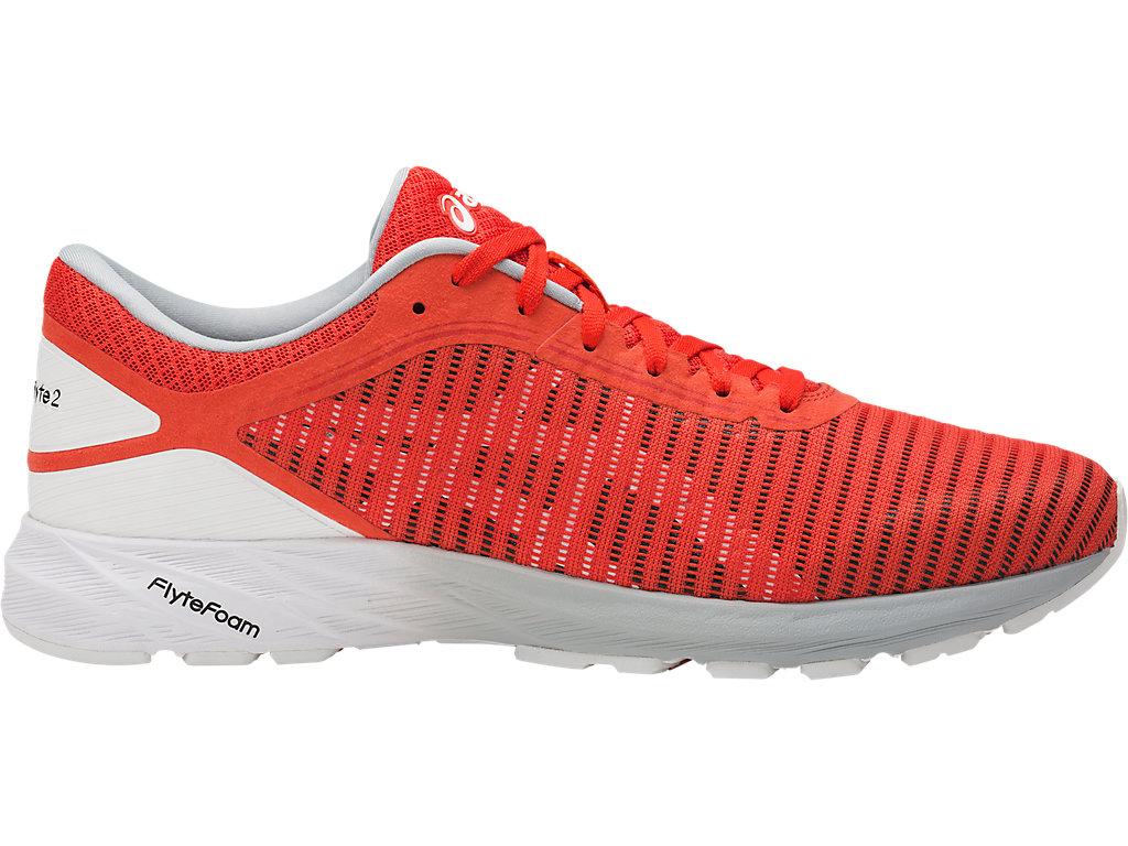 Men's DynaFlyte 2 | Cherry Tomato/White/Mid Grey | Running Shoes ...