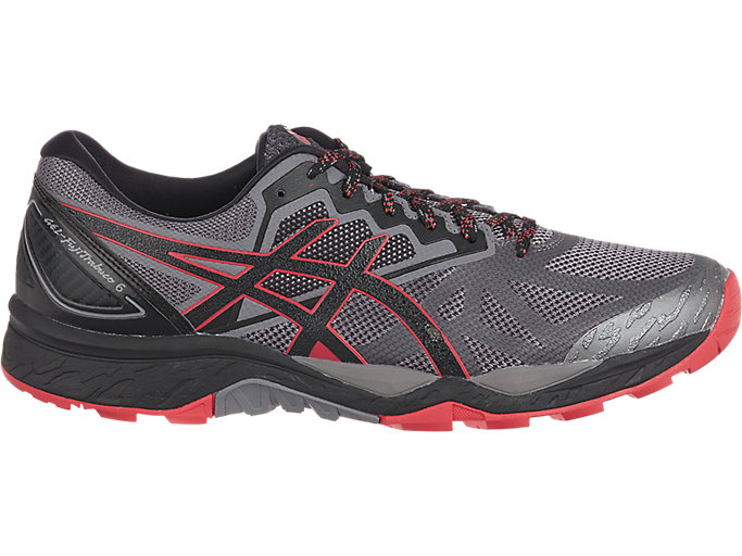 Unisex GEL-FujiTrabuco 6 | CARBON/RED ALERT | Trail | ASICS ...