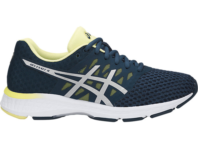 Rechazo Cubeta Mejorar  Women's GEL-Exalt 4 | Dark Blue/Silver/Limelight | Running Shoes | ASICS