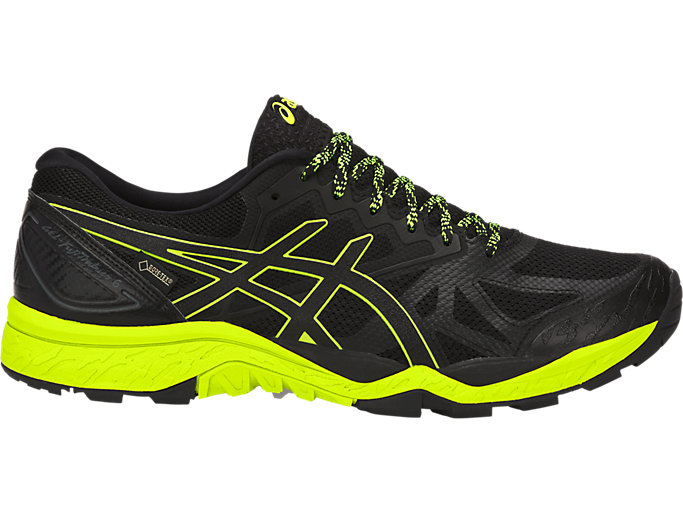 Unisex GEL-FujiTrabuco 6 G-TX | BLACK/SAFETY YELLOW/BLACK ...