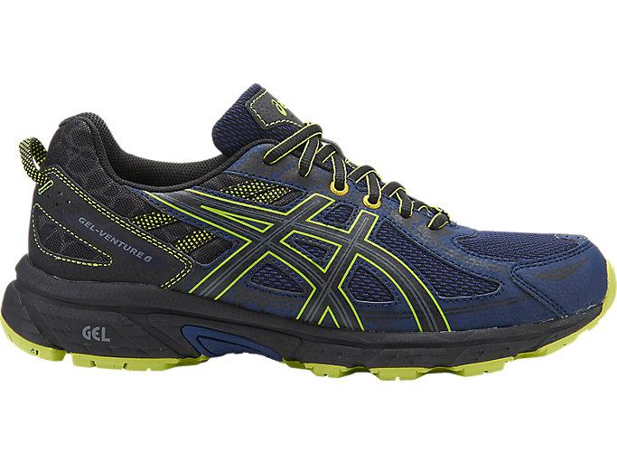 Men's GEL-Venture 6 | Indigo Blue/Black/Energy Green | Trail ...